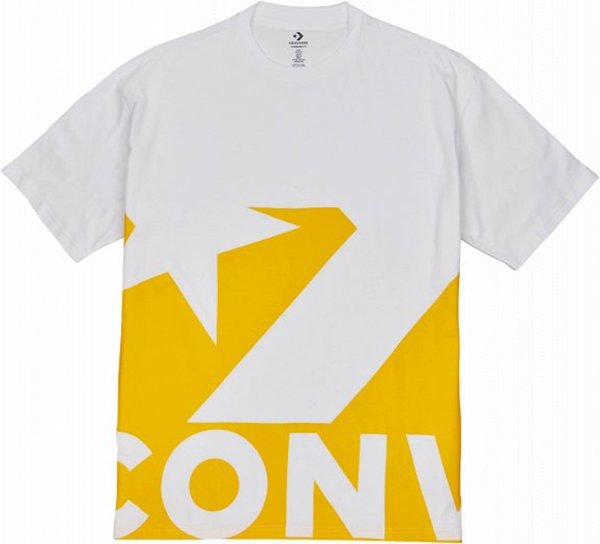 Magliette Converse Star Chevron Icon Remix Tee