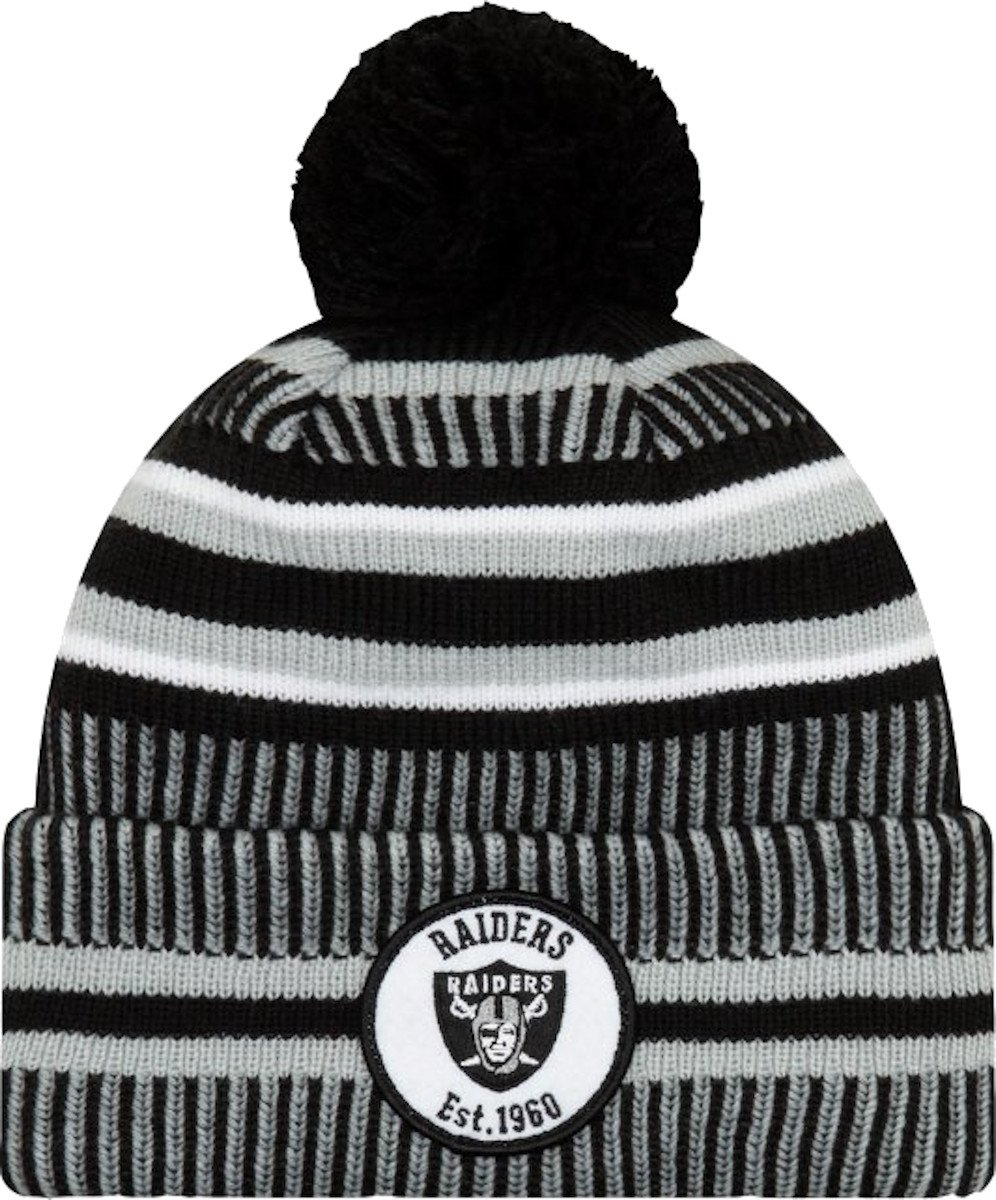 Cappello New Era Oakland Raiders HM Knitted Cap