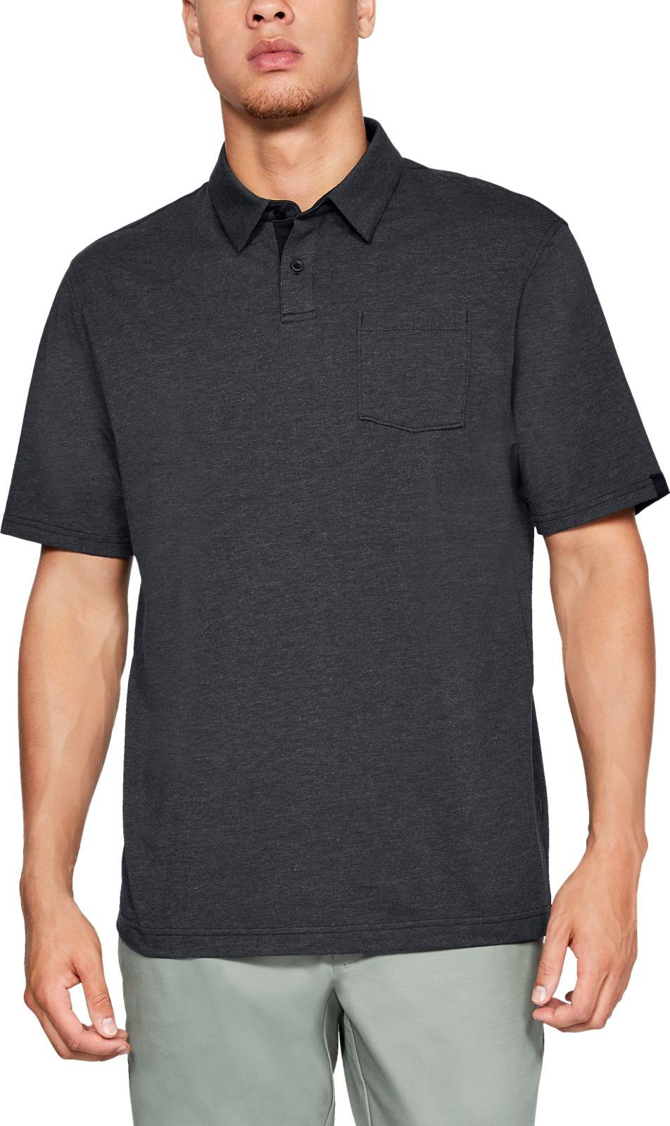 Magliette Under Armour Charged Cotton Scramble Polo